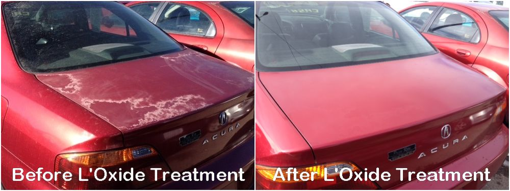 Diy Cars And Trucks Treated For Oxidized And Faded Car Paint