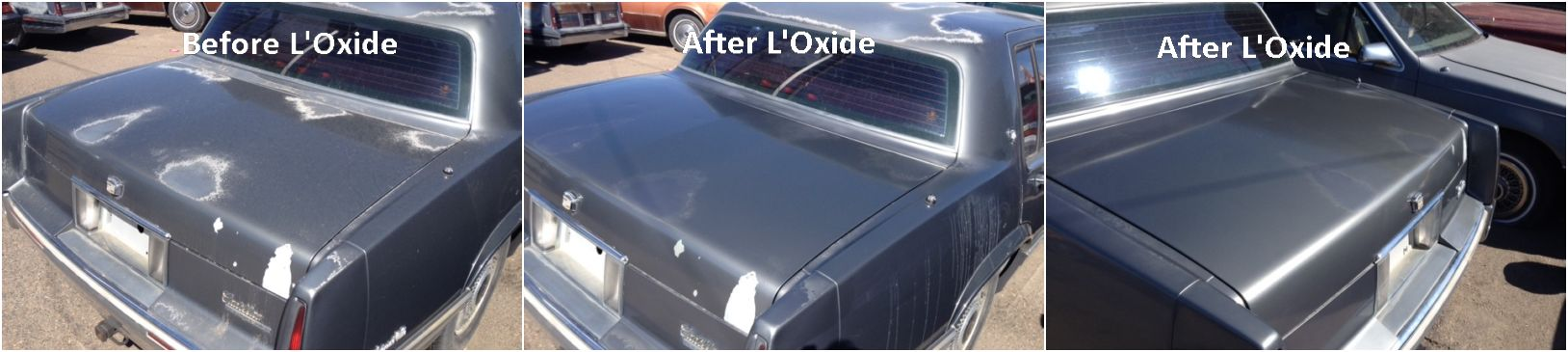 Faded Or Oxidized Paint Car