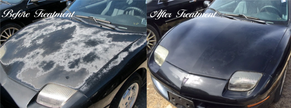 Remove Oxidation Off Car Paint